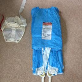 Pliage parachute de secours (Tandem)