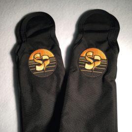 Protections de cuissardes authentique SunPath avec logo brodé